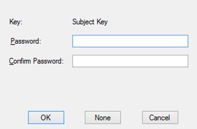 makecert.exe - enter private key password